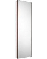 WS Bath Collections Linea Wall Mirror Speci 5673 Finish: Mirrored Glass / Rust Frame