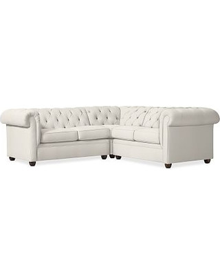 Shopping Special Chesterfield Upholstered 3 Piece L Shaped Corner