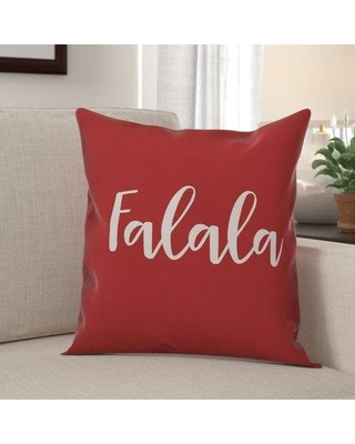 The Holiday Aisle Gilmour Falala Throw Pillow W000938140 Color: Red Product Type: Throw Pillow