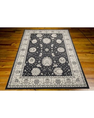 """Alcott Hill Lamarche Woven Charcoal Area Rug ACOT8006 Rug Size: Rectangle 9'3"""" x 12'9"""""""