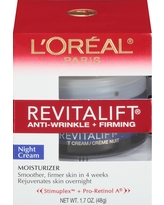 L'Oreal Paris Revitalift Anti-Wrinkle + Firming Night Cream 1.7oz