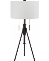 Mantis Adjustable Oil Rubbed Bronze Tripod Table Lamp