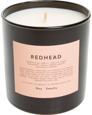 Boy Smells Redhead Scented Candle, Size One Size - Pink