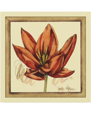 "Winston Porter 'Tulip Study II' Acrylic Painting Print on Wrapped Canvas WNPO3937 Size: 24"" H x 24"" W x 2"" D"