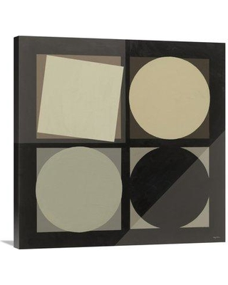 """East Urban Home 'Geo Natural' Graphic Art Print EUHE4857 Size: 36"""" H x 36"""" W Format: Wrapped Canvas"""