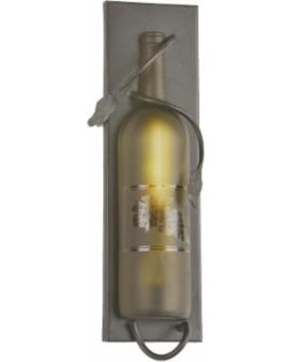 Meyda Lighting Tuscan Vineyard Etched Grapes 5 Inch Wall Sconce - 99373