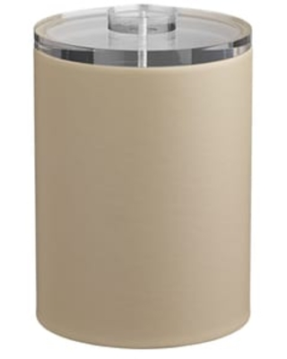 Kraftware Contempo 2-quart Tall Ice Bucket with Thick Lucite, No Handle (Tan)