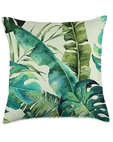 AestheticDesigns Aesthetic Green Monstera Plant Throw Pillow, 18x18, Multicolor