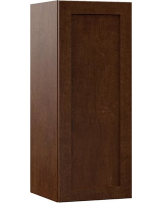 Hampton Bay Designer Series Soleste Assembled 12x30x12 in. Wall Kitchen Cabinet in Spice