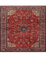 Discover Deals On Bloomsbury Market Souza Traditional Red Area Rug Wool Polyester In Black Size Square 3 Wayfair 96a0db1dbbe0416a8e4418439422d88f