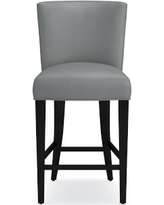 Trevor Counter Stool, Tuscan Leather, Dove