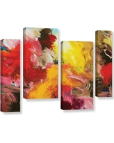 "Brayden Studio Morning Burst 4 Piece Painting Print on Wrapped Canvas Set BRYS2446 Size: 36"" H x 54"" W x 2"" D"