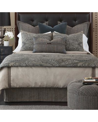 Eastern Accents Reign Wicklow Heather Single Reversible Duvet Cover EAN7193 Size: Super Queen