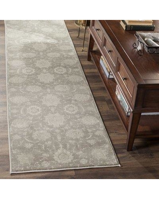 """Darby Home Co Wick St Lawrence Gray/Ivory Area Rug DRBC1969 Rug Size: Rectangle 5'1"""" x 7'7"""""""