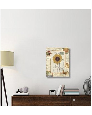 """East Urban Home 'Falling for Fall II' Graphic Art Print on Canvas ERBR1334 Size: 28"""" H x 22"""" W x 1.5"""" D"""