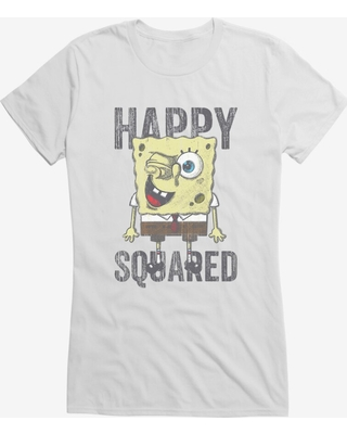 SpongeBob SquarePants Happy Squared Sponge Girls T-Shirt