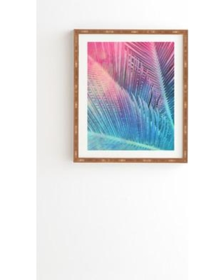 "East Urban Home Palm I Framed Graphic Art USSC3375 Size: 22.4"" H x 19"" W x 1"" D"