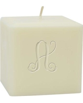 Carved Solutions Personalized Vine Pillar Candle EL3SC-PI-Vine