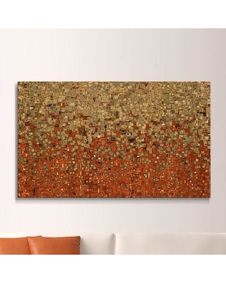 """Picture Perfect International 'The Way Out' Framed Painting Print on Canvas 704-0428 Size: 39.5"""" H x 63.5"""" W Format: Floater Framed Canvas"""