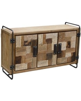 """Foundry Select Andujar Solid Wood TV Stand for TVs up to 65"""" CJ324232"""