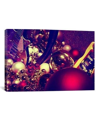 """iCanvas 'Christmas Gifts' by Sebastien Lory Photographic Print on Canvas 7343 Size: 26"""" H x 40"""" W x 1.5"""" D"""