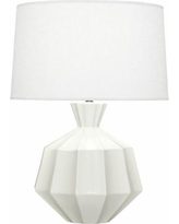 Robert Abbey Orion Matte Lily Ceramic Table Lamp
