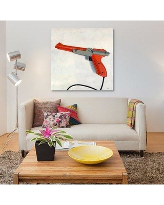 """East Urban Home 'Zapper' Graphic Art Print on Canvas UBNH9206 Size: 26"""" H x 26"""" W x 1.5"""" D"""