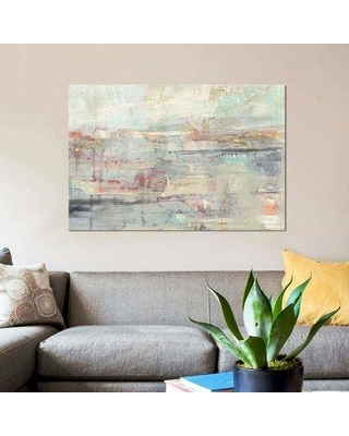 "East Urban Home 'Soft Scape II' Acrylic Painting Print on Canvas EBHS9191 Size: 26"" H x 40"" W x 0.75"" D"