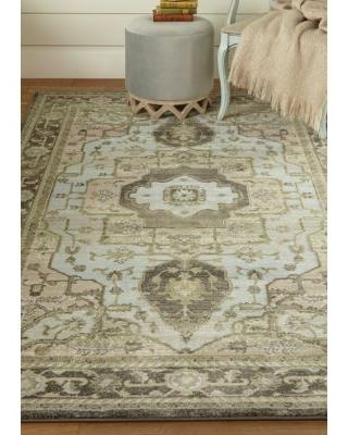 Weave & Wander Taupe/Castle Alessandria 2 ft 10 in x 7 ft 10 in Runner
