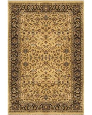 """American Home Rug Co. Tabriz Hand-Tufted Area Rug T039GOBK Rug Size: Runner 2'6"""" x 8'"""