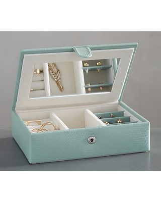 Find the Best Deals on Mckenna Leather Travel Jewelry Box Porcelain