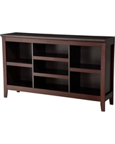 Carson Horizontal Bookcase with Adjustable Shelves - Espresso (Brown) - Threshold