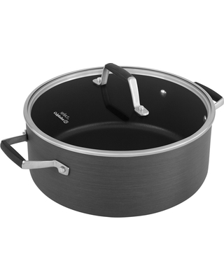 Select by Calphalon 7qt Hard-Anodized Non-Stick Dutch Oven with Cover