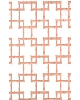 """Bay Isle Home Connelly Bamboo 2 Geometric Fleece Throw Blanket BAYI3238 Size: 60"""" L x 50"""" W x 0.5"""" D, Color: Coral"""