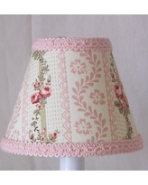 Exclusive deals on floral lamp shades silly bear friendly floral 11 fabric empire lamp shade ls 241 aloadofball Image collections