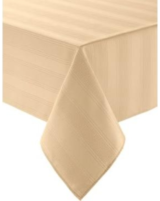 Arlee Home Fashions Inc.™ Yellow Encore Microfiber Tablecloth 60-in. x 102-in.