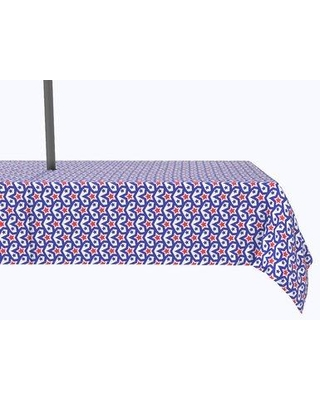 Shop For The Holiday Aisle Foret Stars In Stars Inception Tablecloth Polyester In Red Blue Size 120 X 60 Wayfair F2226636d00245379fd58fb1d9377fcf