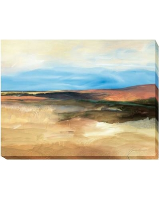 """Artistic Home Gallery 'Sedona Hills' by Marlene Lenker Framed Painting Print on Wrapped Canvas 722CG Size: 12"""" H x 18"""" W x 1.5"""" D"""