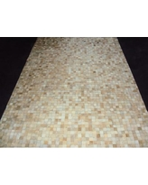 Modern Rugs Patchwork Static Neutral Area Rug patchw5-93 Rug Size: Rectangle 5' x 7'