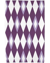 Ivy Bronx Sailer Beach Towel IVBX7468 Color: Purple