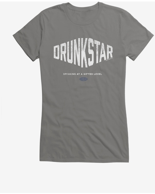 Lunch Hour Productions Drunkstar Girls T-Shirt