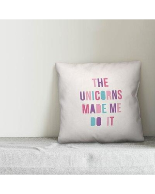 Isabelle & Max Antionette The Unicorns Made Me Do It Throw Pillow W001739322
