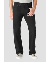Denizen from Levi's Men's 285 Relaxed Straight Fit Jeans - Black 40x30