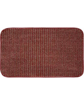 Garland Rug Berber Colorations Kitchen Rug - 24'' x 40'', Red