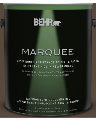 BEHR MARQUEE 1 gal. #ecc-44-3 Osprey Semi-Gloss Enamel Exterior Paint and Primer in One