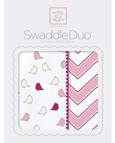 Swaddle Designs Riley Swaddle Blanket in Pink SD-470P