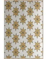 The Holiday Aisle Christmass Beige Indoor/Outdoor Area Rug THLA6881 Rug Size: Rectangle 2' x 3'