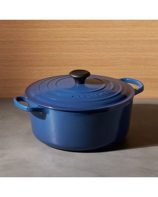 Le Creuset ® Signature 7.25 qt. Round Ink Dutch Oven with Lid