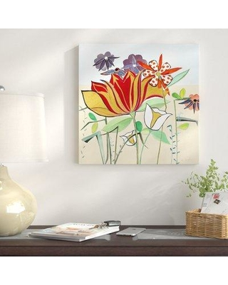 """East Urban Home 'Beautiful Day' Oil Painting Print on Wrapped Canvas EUAH1967 Size: 36"""" H x 36"""" W"""