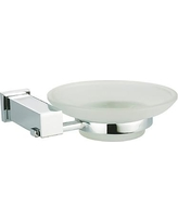 Dawn USA Square Series Soap Dish 8201 / 8201S Finish: Satin Nickel